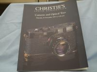 Christies   Cameras and Optical Toys Catalogue -UNUSED-MINT- £6.99